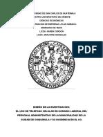Diseño de La Investigacion Seminariotesis