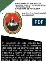 Universidad Nacional de San Agustin Experi