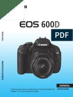 EOS 600D Instruction Manual ES