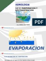 Cap. v Evaporacion y Evapotranspiracion