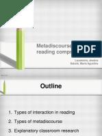 Presentación Metadiscouse