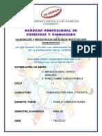 Monografia de Comunicacion Caratula