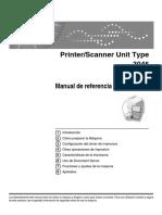 Manual de Uso Fotocopiadora RICOH 3045