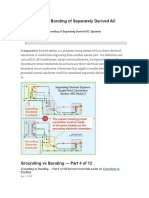 Grounding and Bonding of Separately Derived AC Systems.docx