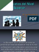 Los Sujetos Del Nivel Superior 2016 (1) (1)