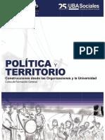 Politica y Territorio