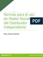 Redes Sociales - Normas para el Distribuidor Independiente.pdf