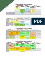 Horarios Ing. Civil 2016-II