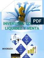 Inversion, Costo, Liquidez y Venta