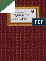 Paginas del Año 1216