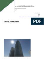 Análisis y Crítica Arquitectónica General
