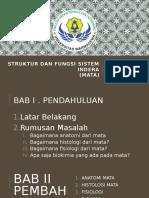 Struktur Dan Fungsi Sistem Indera