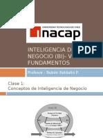 1.- Inteligencia de Negocio (BI)- Visión y Fundamentos
