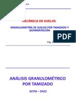 Granulometria Por Tamizado y Sedimentción (( Sesion 4