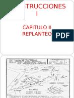 Construccion I-cap 2 - Replanteo