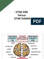 Otak Kiri vs Otak Kanan