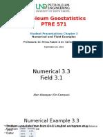 Geostatistics Ch 3 presentation