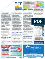 Pharmacy Daily for Tue 25 Oct 2016 - New pharmacy trial topics, Guild challenges Ramsay, PSA a career-booster, Guild Update and much more