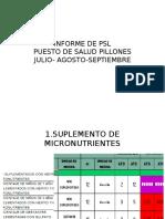 Informe de Psl