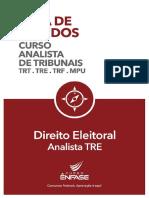 73414 Guia de Estudos Direito Eleitoral TRE Banca CESPE