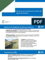Vertimiento y Reuso ALA Chili 2016