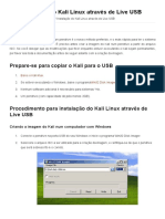 Instalação Do Kali Linux Através de Live USB _ Kali Linux