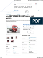 JAC HFC4250KR1K3 Tractor Unit (Batch #252) Made in China (Auto-Che.com)