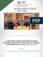 UPC - Oncenio de Leguia - 2016-2