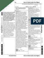 Tarrant County Sample Ballot