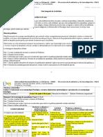 Guía Integrada de Actividades Antropologia