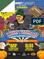 Cuatzimiro, el hijo de Cuasimodo y Lupita Yons