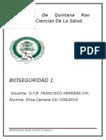 Bioseguridad 1 Trabajo