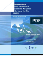 Performance Evaluation Building Partnerships in Environmental Management for the Seas of East Asia (PEMSEA), Terminal Evaluation Report 2006