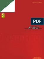 Ferrari F50 Owner Maintenance Manual