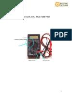 Manual Del Multímetro