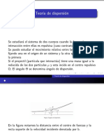 Teoría de Dispersión para partículas