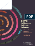 Www.ahmadnurfadilah.co - Quran in Memory, In Heart, In Peace- 7 Essential Steps That Make Quran Memorisation Easy and Meaningful in Your Daily Life