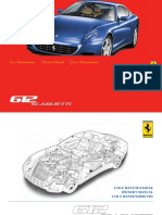 Ferrari 612 Owner Maintenance Manual