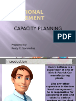 Presentation Capacity Planning