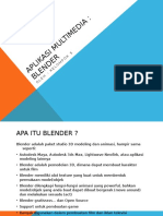 Aplikasi Multimedia Blender