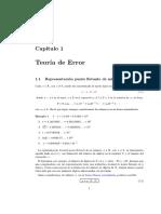 Error -Metodos Numericos