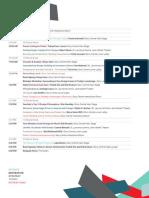 RGD DT Schedule