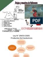 Productos Farmaceuticos elaborado por  juan carlos mendoza alberto