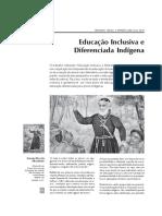 Educação Inclusiva e Diferenciada Indígena