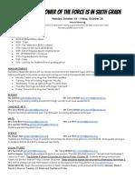 Agenda 10-24 - 10-28
