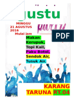 Poster Agustusan Word