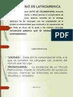 Diapositivas Matrimonio en Latinoamerica