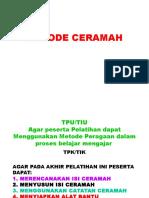 3. METODE CERAMAH
