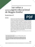 Um Olhar Sobre Regio Emilio