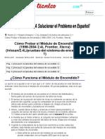 Parte 3 -Cómo Verificar El Módulo de Encendido (1998-2004 2